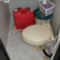 船内トイレ