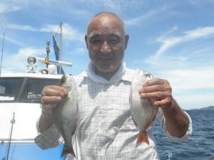 チダイ-広島遊漁船海斗
