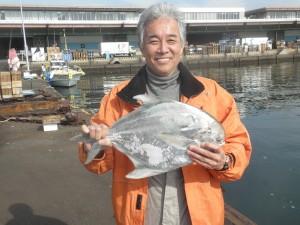 マナガツオ-広島遊漁船海斗