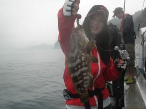 クエ-広島遊漁船海斗