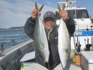 ハマチ-広島遊漁船海斗