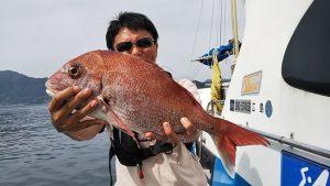マダイ-広島遊漁船海斗