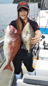 タイ・ハゲ-広島遊漁船海斗