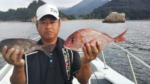 タイ・イサキ-広島遊漁船海斗
