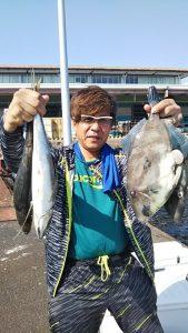 アジ・ハゲ-広島遊漁船海斗