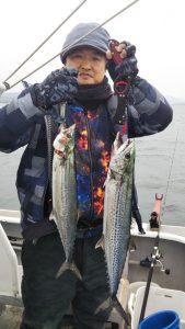 サゴシ-広島遊漁船海斗