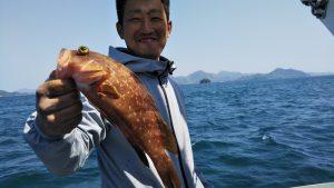 アコウ―広島遊漁船海斗