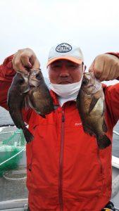 メバル・ライトジギング―広島遊漁船海斗