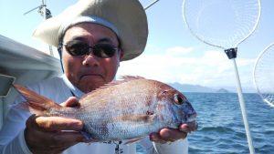 ライトジギング・ウマヅラハギ―広島遊漁船海斗