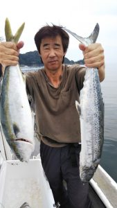 ウマズラハギ・ライトジギング―広島遊漁船海斗